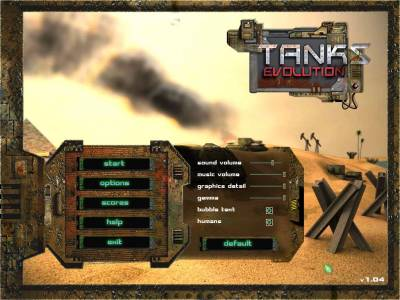 Tanks Evolution / Эволюция танков v1.04 (2006 / Eng) - Torrent