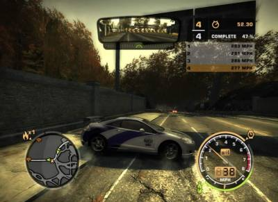Need for Speed: Most Wanted v1.3 (2005 / Rus) - Torrent