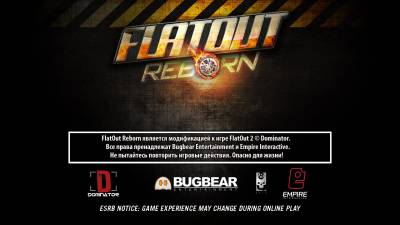 FlatOut 2 Reborn v0.8.16 [Stable, Online] (2015 - Rus / Eng)